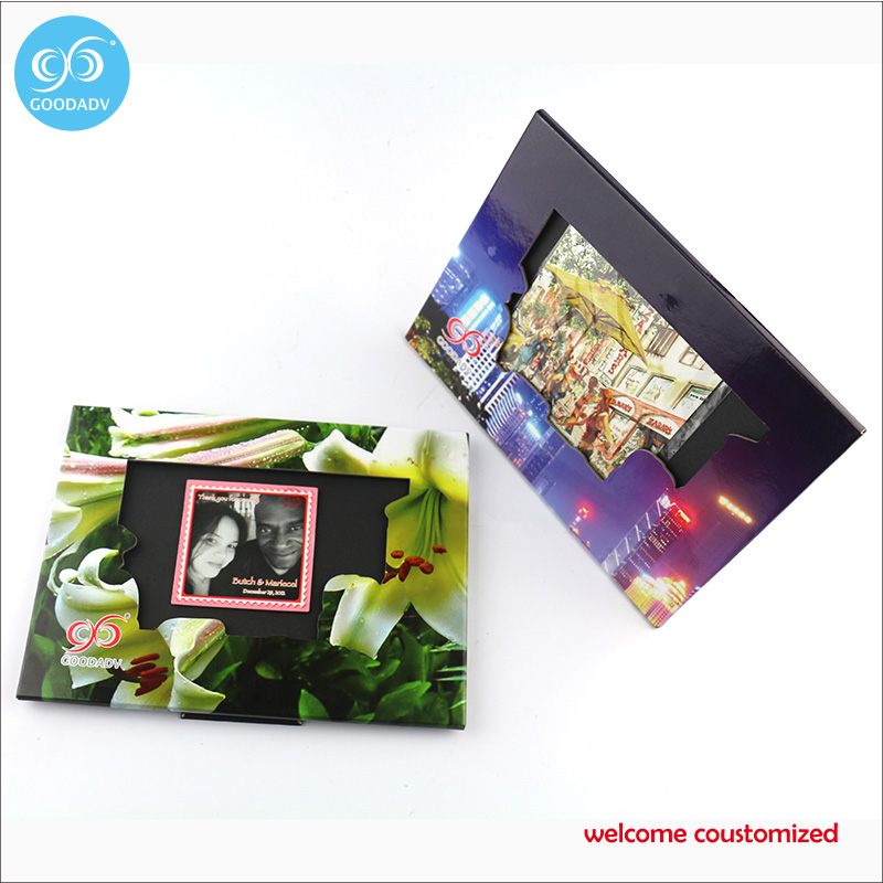 6 Styles New Paper Photo Frames 20.7*15.5cm Lovers/Baby Picture Frames For Home Decoration Souvenir 2pcs free shipping(China (Mainland))