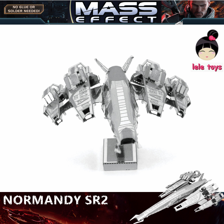 MASS effect NORMANDY SR2 3D metal puzzle model nano 1 Sheets Wholesale price Stainless steel DIY Creative gifts(China (Mainland))