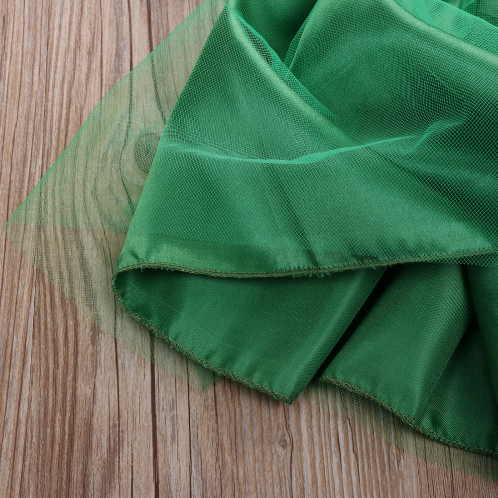 the little mermaid tail princess ariel dress cosplay costume kids for girl fancy green dress there are A lot of buyer's show