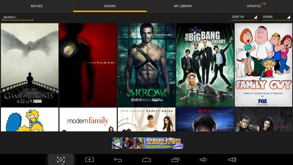 image for Android TV Box CS918/Q7 2G/8G GPU RK3188 Smart Google TV Bluetooth HDM