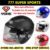 1 pc Motorcycle Helmets Open Face Helmet Yohe YH837  Electrical Scooter Capacete Casco