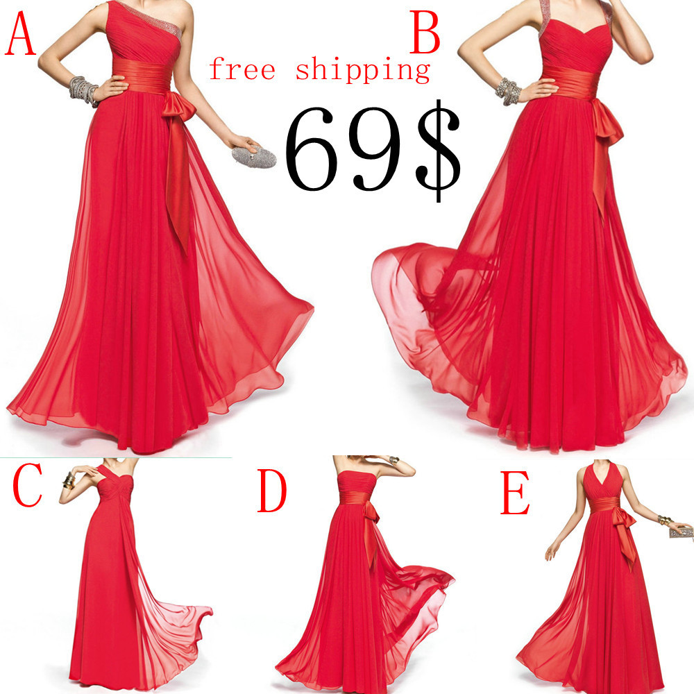 sexy red prom dresses 2014 free shipping sexy red prom