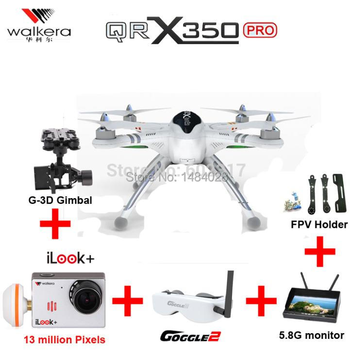 Игрушка на радиоуправлении EMS Walkera QR X 350 Devo10 RC iLook FPV H500 DJI QR X350 pro walkera g 2d camera gimbal for ilook ilook gopro 3 plastic version