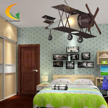 retro pendant lamps boy room pendant lighting child cartoon bedroom Led pendant lamp bar table vintage pendant light(China (Mainland))