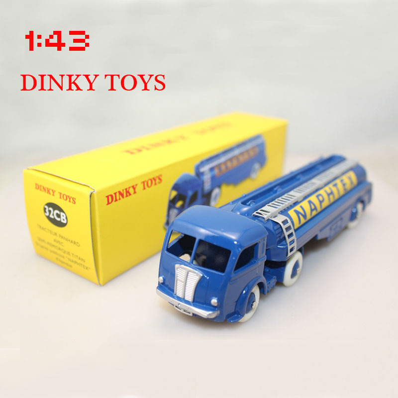 Dinky toys 1:43 32CB Tracteur Panhard Avec Tanker NAPHTEX(China (Mainland))