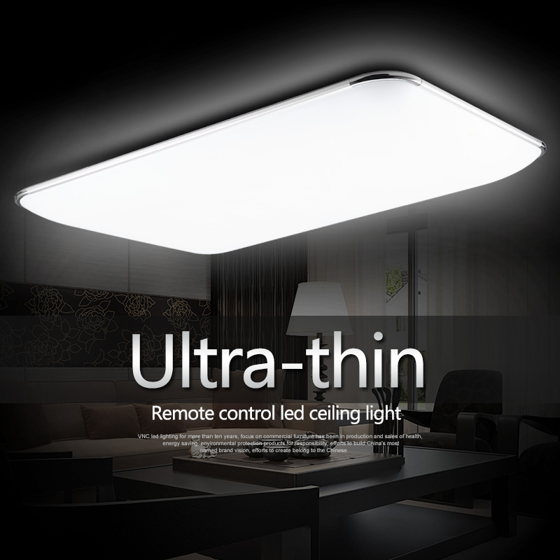 Modern minimalist ultra thin modern square led ceiling for Ultra modern light fixtures