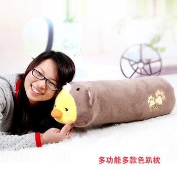 Rabbit pillow plush toy cylinder cushion cloth doll