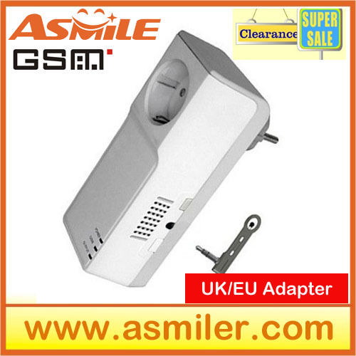 wholesale 2014 hot sale GSM Power Socket Remote Controlled Socket With Extended-connected Temperature Sensor from asmile  <br><br>Aliexpress