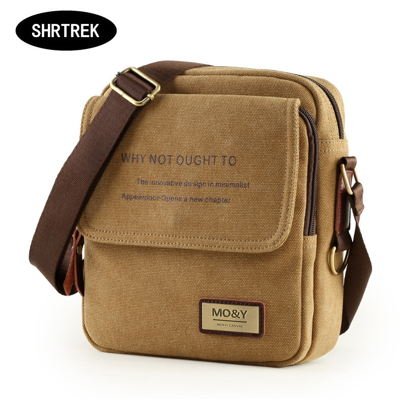 A canvas bag bag ink men s casual Canvas Bag Satchel Bag Backpack across small business<br><br>Aliexpress