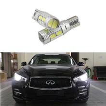 2pcs T10 LED Side Parking Light Marker Lamps For Infiniti QX70 G37 FX35 37 50 M30 M35 M37 M45 M56 Q45 EX37(China (Mainland))