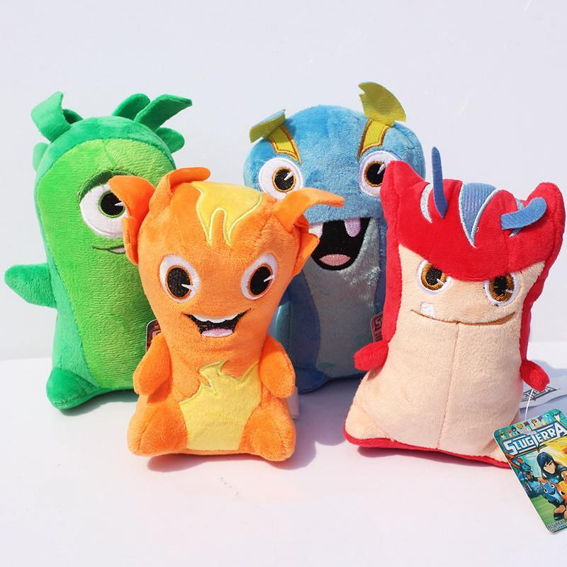 New Arrival 4pcs/set 615cm Slugterra Plush Toys Stuffed Dolls With Tag Free Shipping<br><br>Aliexpress