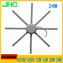 12W 16W 20W 24W LED Ceiling light Source magnet Module retrofit Replace disc lamp Board 190mm 210mm 250mm 290mm Free shipping