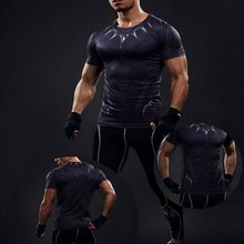 Buy Mens Compression Shirts Bodybuilding Skin Tight Short Sleeves Jerseys Clothings MMA Crossfit Exercise Workout Fitness Sportswear for $7.99 in AliExpress store