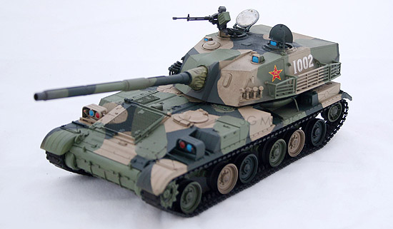 Trumpeter assembled military tank model 00306 Chinese Type 89 120mm anti-tank guns(China (Mainland))