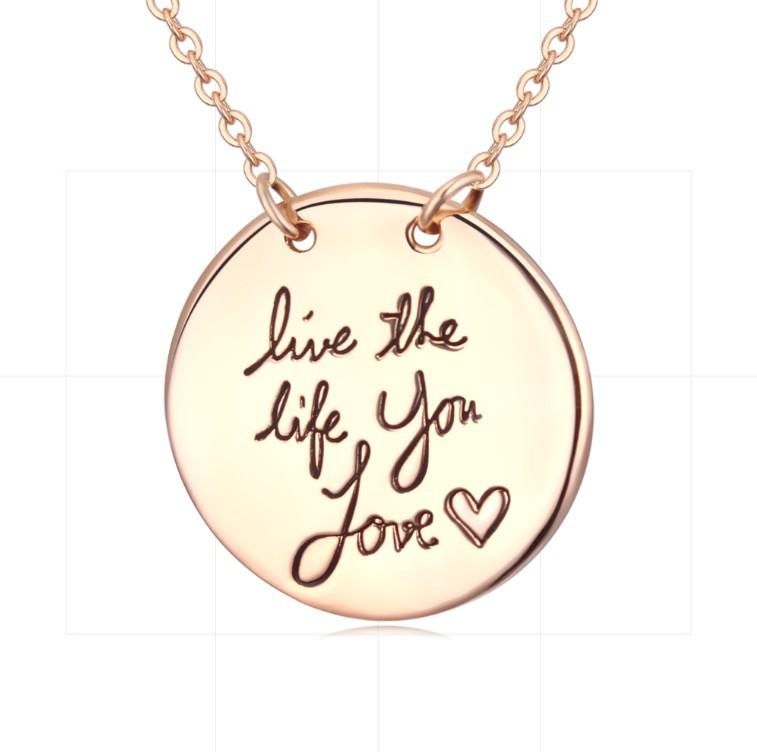Цепочка с подвеской Anna Jewelry 18K & 151 цепочка с подвеской anna jewelry