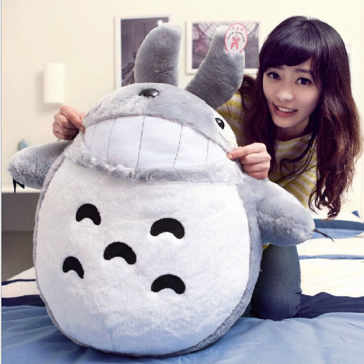 "1pcs 8"" 20CM New Arrival My neighbor Totoro Cartoon Movies Plush Toys Smiling High Quality Dolls(China (Mainland))"