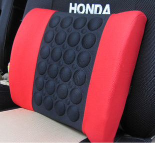 QP046 4 color red,black,gray,white electric massage lumbar support vehienlar household cushion car cushion tournure auto supply(China (Mainland))