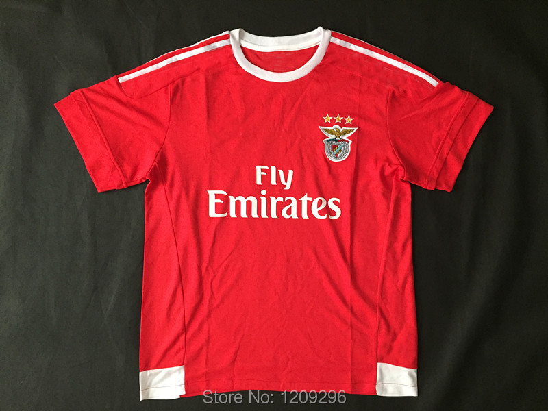 Original brand & tags 15-16 top thailand quality benfica football shirt, benfica soccer jersey,free shipping(China (Mainland))