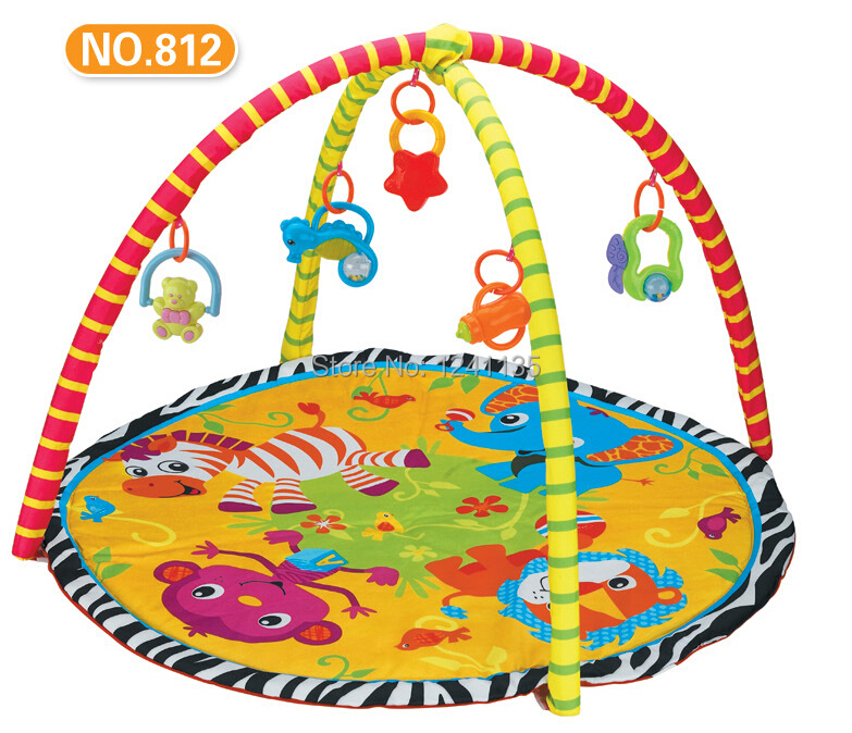 BABY PLAYGYM Game Blanket Baby Crawling Carpet Gym Baby Baby Play Gym Mat Puzzle Play Mat Carpet Child<br><br>Aliexpress