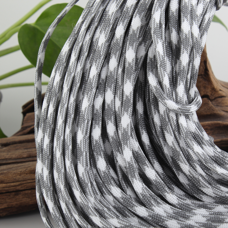 low elastic polyester rope cheap military Paracord cord(China (Mainland))