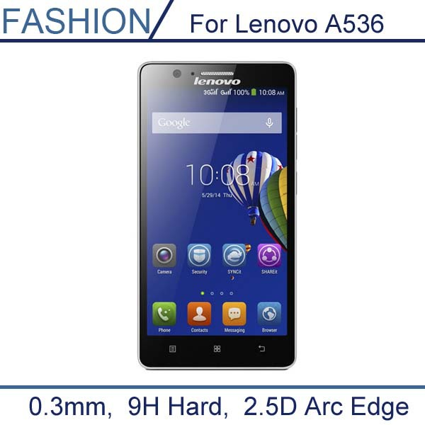 0 3mm Tempered Glass for Lenovo A536 a 536 9H Hard 2 5D Arc Edge High