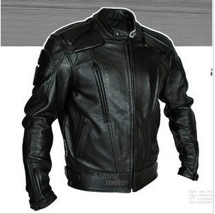 005Motorbike racing suit motorcycle leather motorcycle jacket motorcycle gear with clothes(China (Mainland))