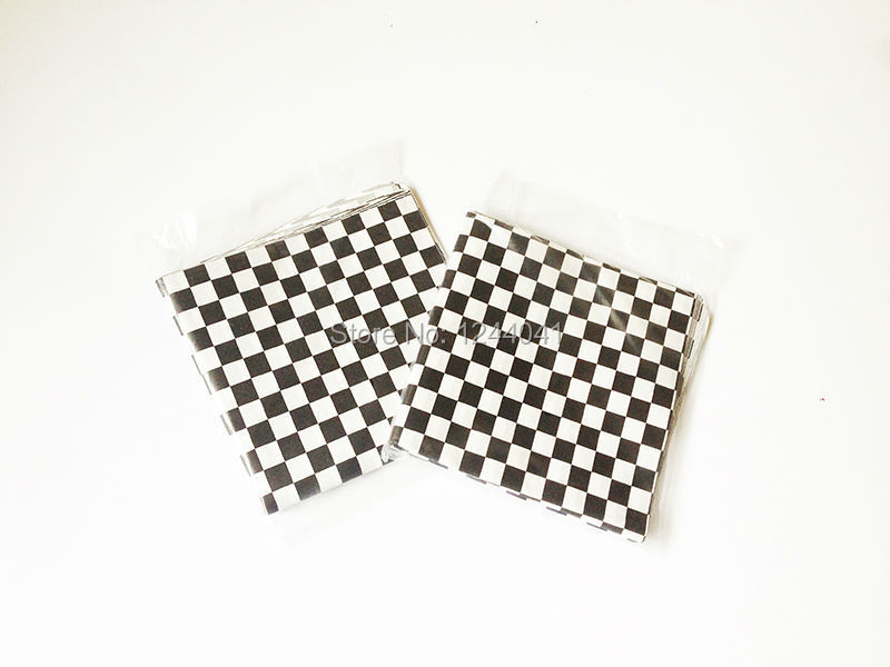 Checkered Wrapping Paper Paper Checkered Wax Liners