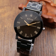 3 Typles Relogios Masculinos KEVIN Stainless Steel Analog Men's Quartz Watch Business Watch Men Watch W0908