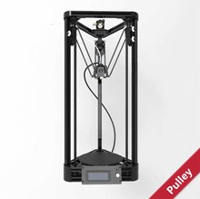 2016 Injection Model Kossel Mini 3D Printer Delta Rostock Pulley 3D Printer  DIY kit