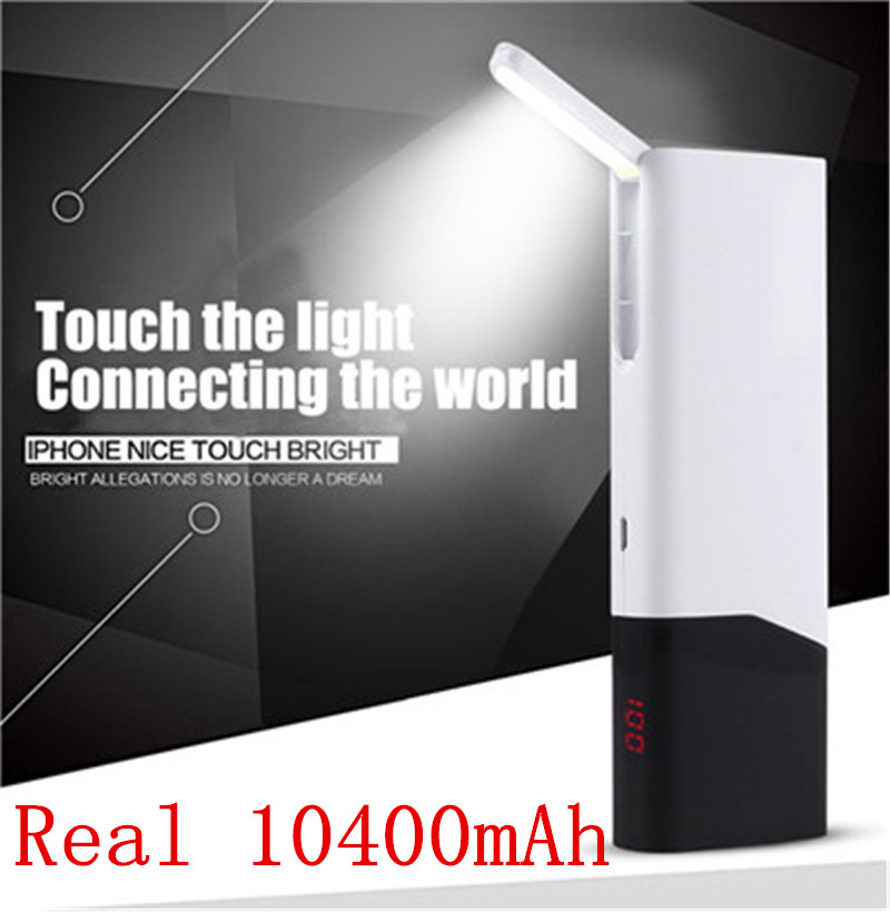 Original 10400mAh Power bank USB External Mobile Backup Portable Battery for iPhone mobile Phone Universal Charger PowerBank(China (Mainland))