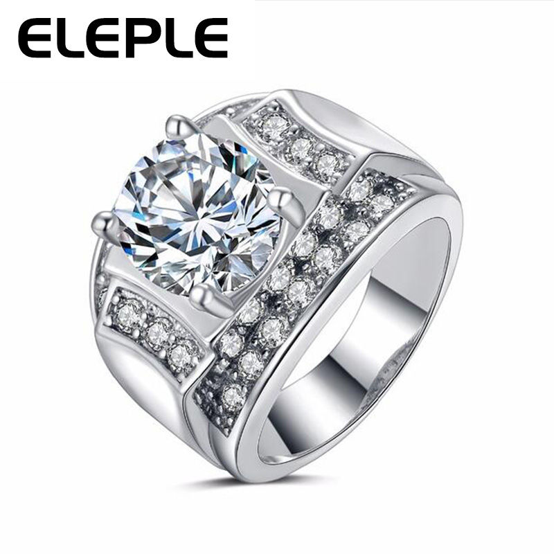 big ring for female platinum Plated AAA zirconia romantic fashion jewelry wholesale rings LSR264(China (Mainland))