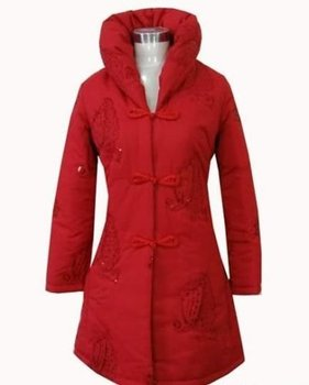 Chines style winter cotton Women's Jacket/Coat SZ:M-3XL