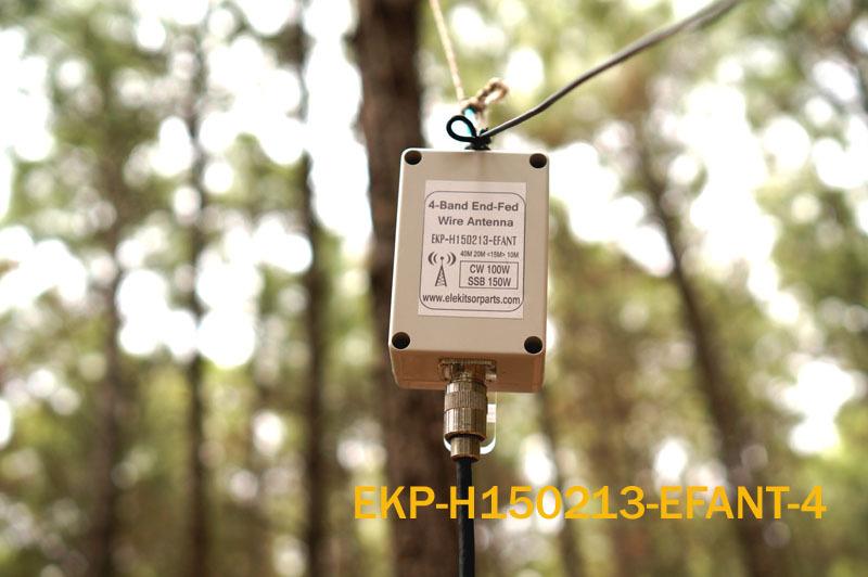 New Product! Ham Radio 4-band End-fed Wire Antenna HF Multiband Antenna Dipole 4-Band Shortwave Antenna(China (Mainland))
