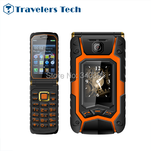 Land Flip Phone Rover X9 Clamshell 3.5 inch One Key Dail Call Mobile Phone 1 Camera Mp3 Playback Cellphone Push-Button OPPO X9(China (Mainland))