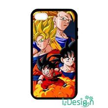 Fit for iphone 4 4s 5 5s 5c se 6 6s plus ipod touch 4/5/6 back skins cellphone case cover dragon ball son goku