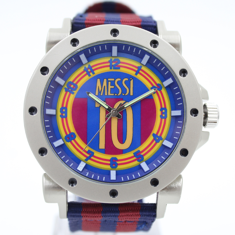 2015/2016 lionel messi football jersey number 10 style soccer club design souvenir watch quartz men fashion watches(China (Mainland))
