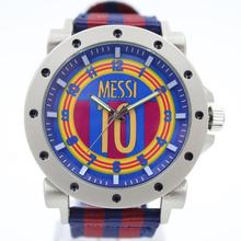 2015/2016 lionel messi football jersey number 10 style soccer club design souvenir watch quartz men fashion watches