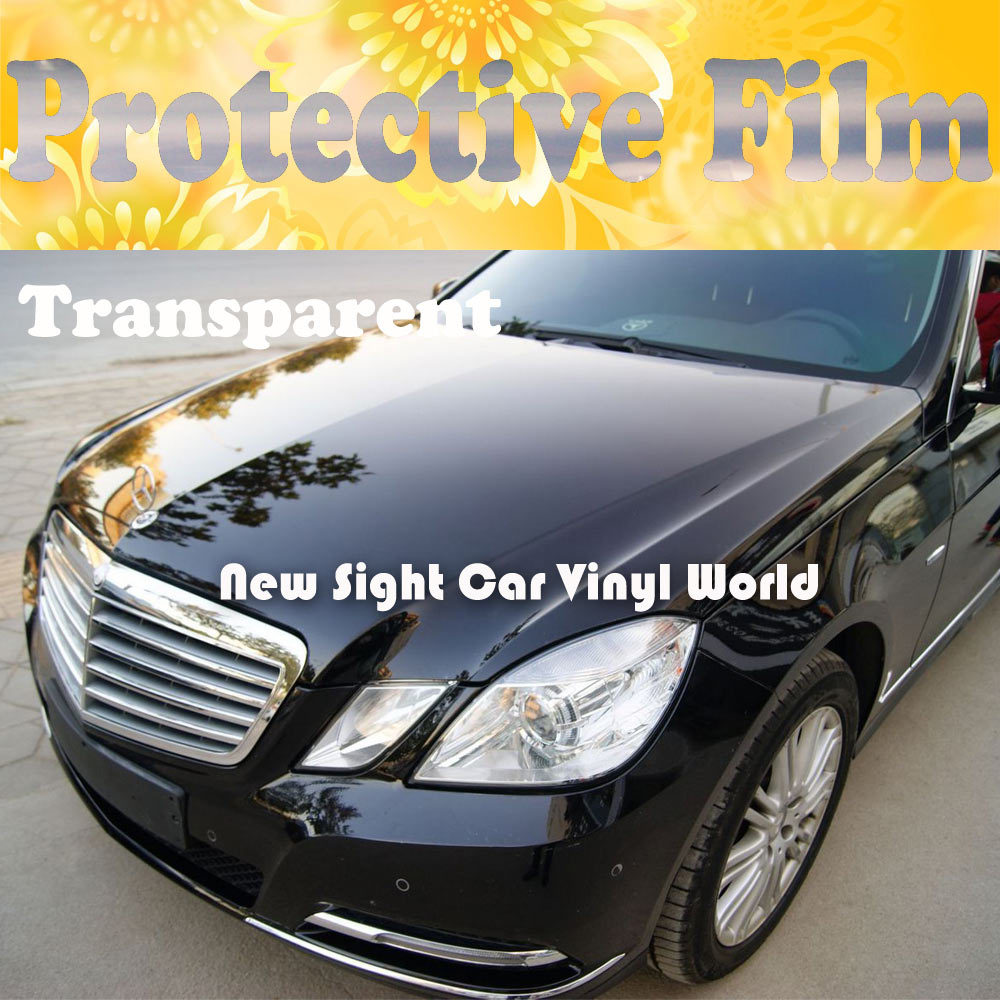3 Layers Clear Car Protection Vinyl Car Paint Protective Film Wrap For Car Wrapping Size