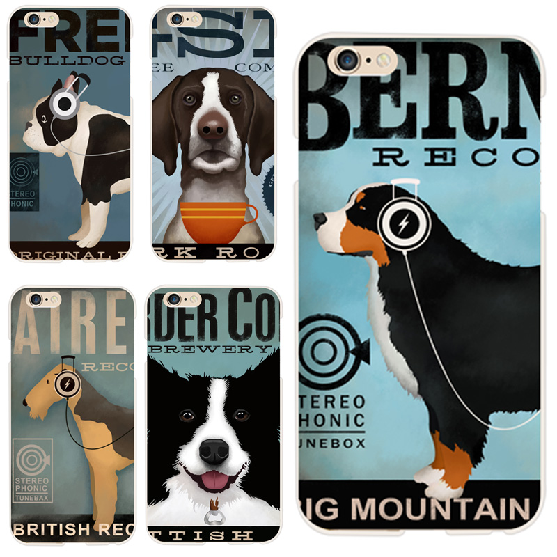 New Arrive 2016 Funny Animal Phone Cases For Apple iPhone 6 Case TPU Cartoon Dogs Design Phone Back Cover For iphone 6s 4.7 inch(China (Mainland))