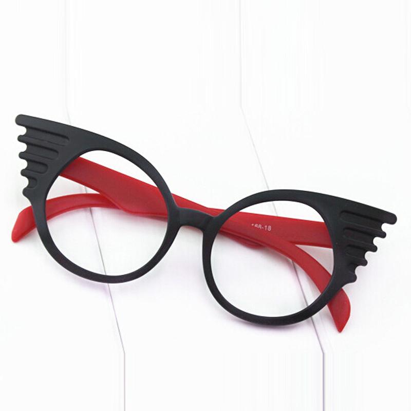 Glasses Frames No Lenses : 2016 men and women decorative glasses frame wings ...