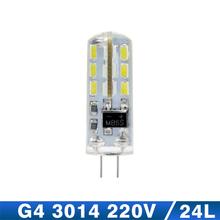 10pcs G4 LED Bulb Lamp High Power 3W SMD2835 3014 DC 12V AC 220V White/Warm White Light replace Halogen Spotlight Chandelier(China (Mainland))