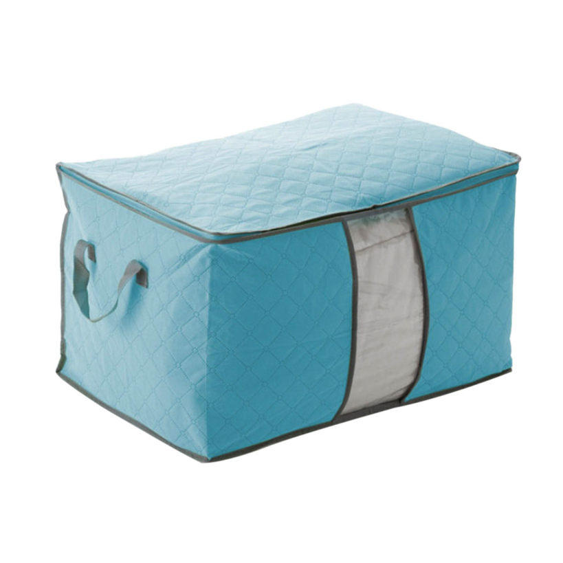 Amazing 4Colors Foldable Clothing Organizer Clothing Storage Box for Blanket Pillow Underbed Bedding Free Shipping(China (Mainland))