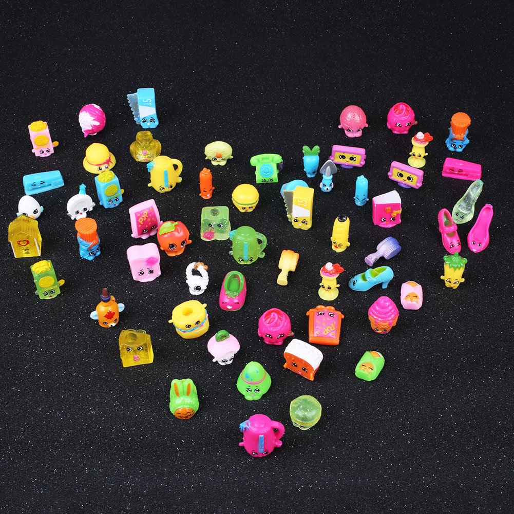 New Action Figure 30pcs Kids Toys Children Pretend Play Supermarket Shop Basket Goods Educational Funko Pop Toy(China (Mainland))
