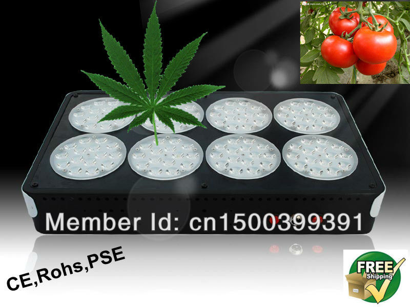 DHL Free Shipping Apollo 360 Watts Led indoor Grow Light, 3w chip,hydroponics system vegetable flowering(China (Mainland))