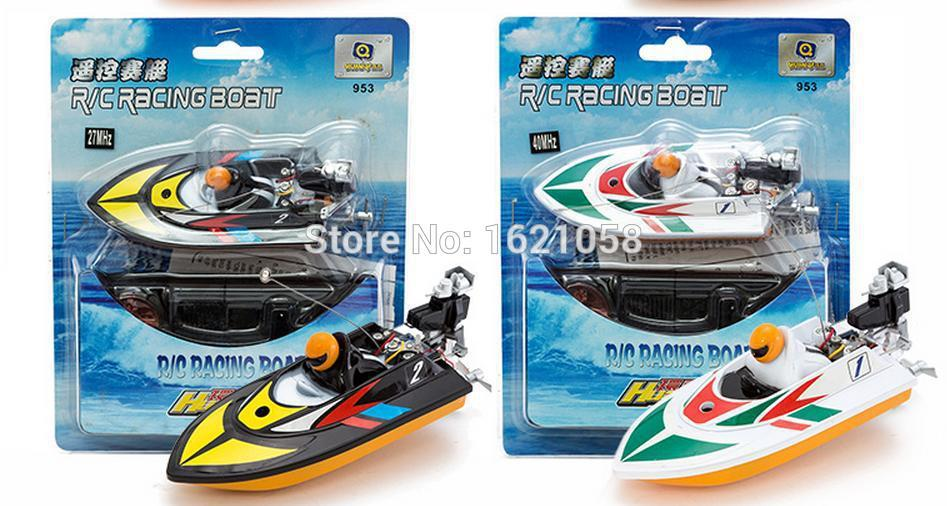 2015New Arrival Fashion design 1 PCS RC Micro Mini Racing Boat Motor Remote Radio RC Ship Speedboat Mode Best Gift To Children(China (Mainland))