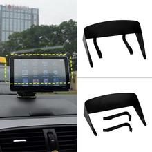 High Quality New 5 Inch Car GPS Professional Navigator Sun Shade Anti Reflective Black Visor Shield Car Sun Shade Promotion(China (Mainland))