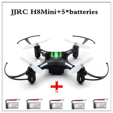 JJRC Eachine H8 Mini Headless Mode RC Quadcopter Helicopter with 5pcs 3.7V 260mAh Battery 2.4G 4CH 6 Axis RTF Remote Control Toy