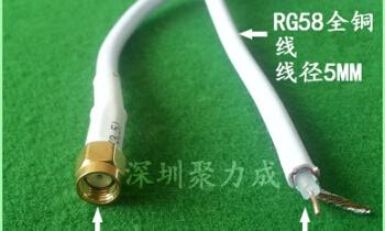 5PCS LOT 1m rg58 sma cable(China (Mainland))