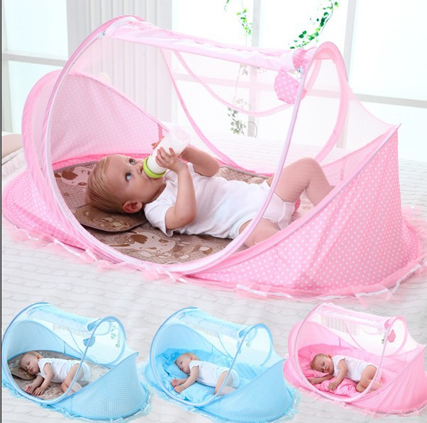 baby travel bag bed baby crib portable cute folding baby crib kids