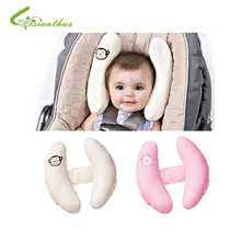1 pc wholesale Baby Stroller Pillows Infant Car Seat Head & Neck Protection Pillow Bebe Boys Girls Soft Adjustable Head Support(China (Mainland))